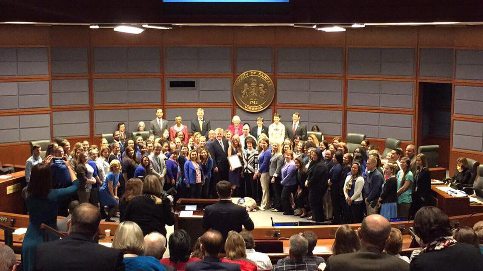 child abuse prevention month proclamation and wear blue day